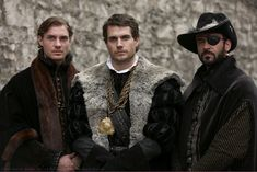 "What do rabbit fur, a mandarin collar, and an eyepatch have in common? Well, I bet you didn't think any of these things were hot until you saw this photo. Period dramas have a way of turning our normal ""guy aesthetics"" upside down..."