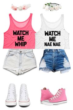 """Bffs"" by elizabethnutt ❤ liked on Polyvore featuring Converse, UGG Australia and Full Tilt"