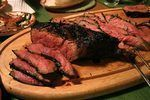 """The London broil refers to a cooking method rather than a cut of meat, but that does not stop butchers from labeling meat as a """"London broil"""" cut. The original cooking method requires a tough cut such as a flank steak to be broiled or grilled and served in thin slices. Use a pressure cooker instead to cook the steak thoroughly for safety while..."""