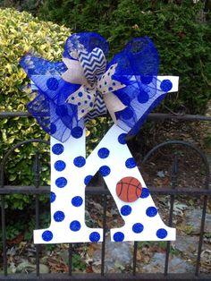 Kentucky basketball/ football door hanger by shutthefrontdoor2