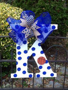 Kentucky basketball/ football door hanger by shutthefrontdoor2