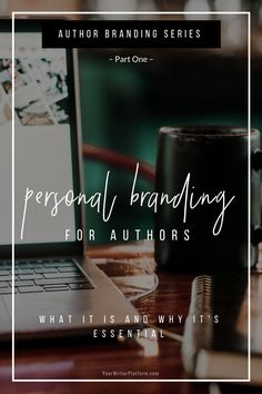 Personal branding for authors will assist you in marketing yourself, as well as help define who you are both personally and professionally as a writer. Fiction Writing, Writing Advice, Writing A Book, Writing Resources, Writing Prompts, Marca Personal, Personal Branding, Writing Images, Book Launch