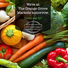 Sunday Farmers Market, Fresh Market, Before Midnight, Organic Living, Organic Fruit, Fruit And Veg, Food Items, Organic Recipes, Gourmet Recipes