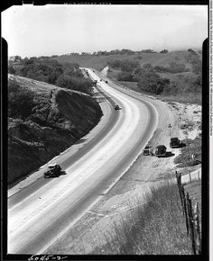 Kellogg Hill , West Covina in 1940