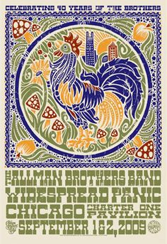 Allman Brothers Band with Widespread Panic 2009