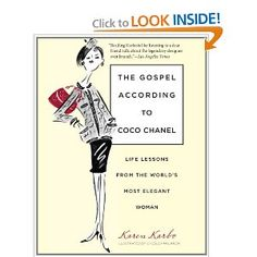 A witty look at a fashion icon, loved this book!  I laughed a lot and gained a new respect for Coco Chanel.