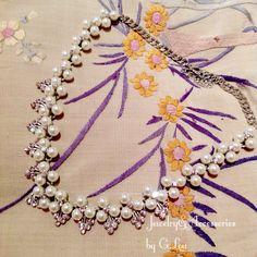 Pearls Dtatement Necklace