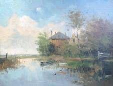 Chris van der Windt, kunstschilder, schilderij te koop, expositie, Galerie Wijdemeren, Breukeleveen