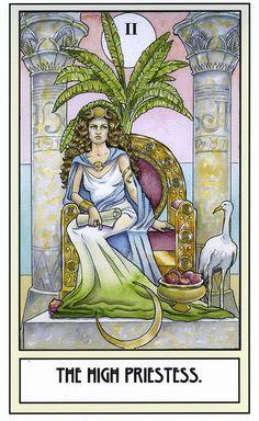 The High Priestess by Ramona Szczerba, sadly not a full deck.