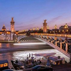 Disneyland, Concours Instagram, Pont Alexandre Iii, Paris Architecture, Barcelona, Wonderful Picture, Paris Photos, Sydney Harbour Bridge, After Dark