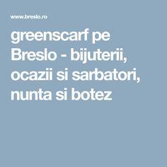 greenscarf pe Breslo - bijuterii, ocazii si sarbatori, nunta si botez Handmade Accessories, Polymer Clay, The Creator, Modeling Dough
