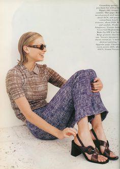 Prada Spring 1996.