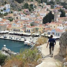 Exploring Simi Island, Greece Amazing Places, Beautiful Places, Greece Islands, European Countries, Small Island, Greece Travel, Rhodes, Beautiful Islands, Travel Around