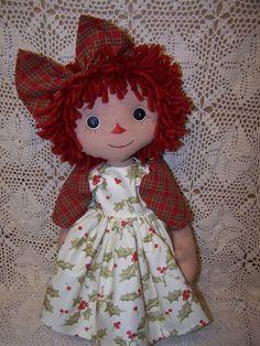 Primitive Raggedy Abby Doll PDF PC