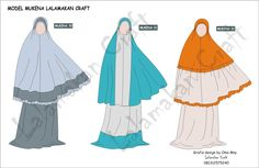 Kebutuhan mukena untuk shalat tidaklah cukup dengan satu atau dua stel ternyata bisa lebih dari itu. Kalau kita beli di toko lum... Dress Design Sketches, Fashion Design Sketches, Muslim Women Fashion, Womens Fashion, Modest Outfits, Kids Outfits, Hijab Fashion, Fashion Dresses, Hijab Tutorial