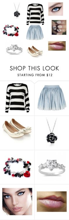 """Chandra - Back To Hogwarts"" by georgia-354 ❤ liked on Polyvore featuring Denim & Supply by Ralph Lauren, Accessorize, Fantasy Jewelry Box, Maybelline and Sephora Collection"