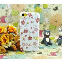 Cath Kidston Small Flowers iPhone 5C Case - White