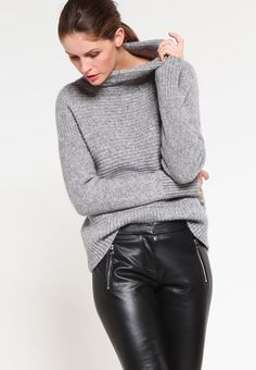 HUGO HEDINA Pantalon en cuir black prix Zalando 180.00 €