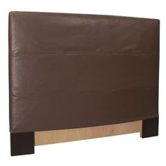 Howard Elliott Avanti Pecan Slipcovered Headboard Pecan 100% Polyurethane Upholstery Headboard (Twin)