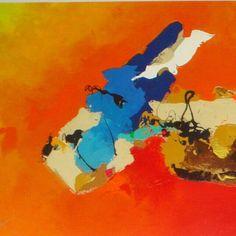 Obras en oleo y acrilico sobre canvas