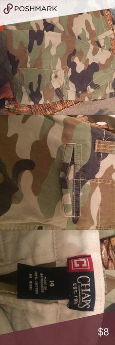 Camo pants lightweight Pants light weight 100percent cotton Chaps Bottoms