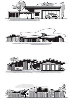 Mid-Century Home Illustrations
