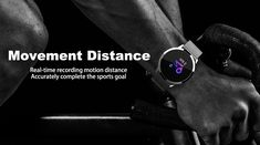 Newwear Q8 Stainless Steel 0.95 inch OLED Color Screen Blood Pressure Heart Rate Smart Watch Sale - Banggood.com