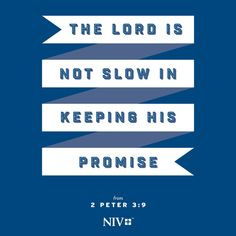 NIV Verse of the Day: 2 Peter 3:9