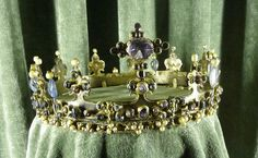 part of the German Crown Jewels. Royal Crowns, Royal Tiaras, Tiaras And Crowns, Antique Jewelry, Vintage Jewelry, Renaissance, Royal Jewelry, Circlet, Family Jewels