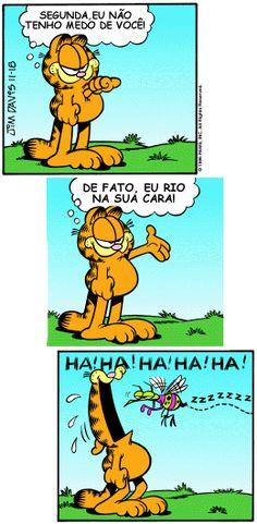 Garfield e a segunda-feira.