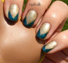 Fancy Friday Famous #katyperry #nailart #nails #katyperrynails #darkhorsenails