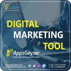 AppsGeyser is a free web platform that allows converting any web content into an Android App in 2 easy steps. Built to help people to transfer their ideas into apps. . . For any IT related services contact us now! USA:+1(512)7348342 INDIA:+91-8983485655 Check bio support@techinvento.com Web Platform, Android Apps, Helping People, Digital Marketing, India, Content, Usa, Check, Free