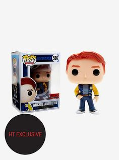 Funko Riverdale Pop! Television Archie Andrews Vinyl Figure Hot Topic Exclusive,