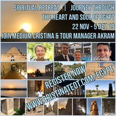Join Medium Cristina Teot and tour manager Akram Farouk on this transformational journey Tour Manager, Meditation, Great Pyramid Of Giza, Us Sailing, Pyramids Of Giza, Spirituality, Journey, Tours, Sailing