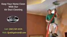 Our South Florida Air Duct Cleaning Services Vent Cleaning, Cleaning Service, Clean Dryer Vent, Clean Air Ducts, Air Care, Service Quality, Delray Beach, South Florida, Improve Yourself