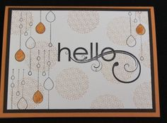 This card uses Stampin' Up! My Friend stamp set. I love this set! Made by Lisa Bowell-Stampin' Up! Demonstrator @ lisastamps.com
