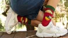 Food Socks, Trendy Fashion, Trendy Style, Buy Socks, Green Socks, Special Birthday Gifts, Save The Children, Kids Socks, Exercise For Kids