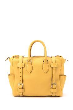 Vintage Hermes Leather Handbag