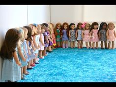 American Girl Doll Disney Princesses ~ Frozen, Cinderella, Ariel, Belle ~ HD WATCH IN HD! - YouTube
