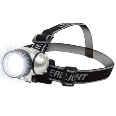 Headlamp with water-resistant LED light - perfect for hiking, power outage, camping, exploring, etc...