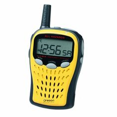 Oregon Scientific Portable Emergency Weather Radio $31.16