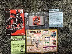 Excitebike 64 Nintendo 64 Japan NTSC-J boxed set Excite Bike