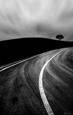 Dirty road by Thrasivoulos Panou