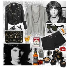 """""""31/50 Jim Morrison"""" by inesss on Polyvore"""