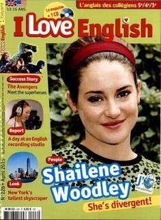 I love English 228 : rencontre avec Shailene Woodley ; reportage dans un studio d'enregistrement ; découverte de la nouvelle One World Trade Center à New York