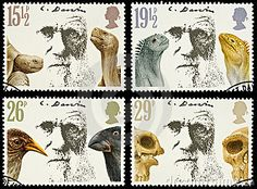 Britain Postage Stamps Charles Darwin