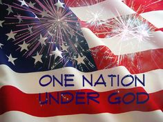 One Nation Under God  Thanks to our veterans!
