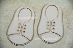 Buty - trampki dziecięce 5x8 cm