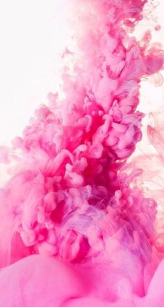 Pink cloud / underwater paint effect wallpaper for your mobile/cell phone, tablet or desktop computer