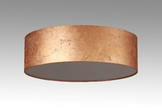 Ceiling lamp D. 50 cm sheet copper look Ceiling Fixtures, Ceiling Lamp, Ceiling Lights, D 40, Copper Sheets, Modern Ceiling, Drum Shade, Lamp Shades, Light Up